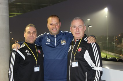 WCFC Visits Youth Academies at Manchester City FC and Arsenal FC in England